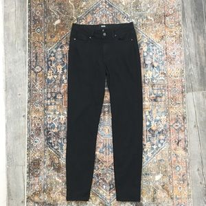 Paige Horton ultra skinny high rise black pants